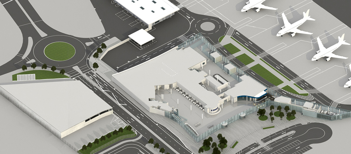 Terminal Map Gibraltar International Airport