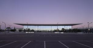 Terminal At Dusk